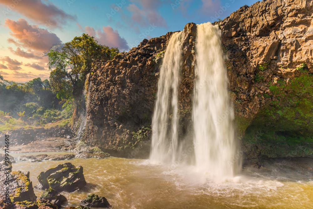 Blue Nile Falls Tis Issat in Ethiopia, Africa
