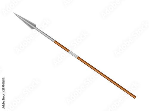 Battle spear Fototapeta