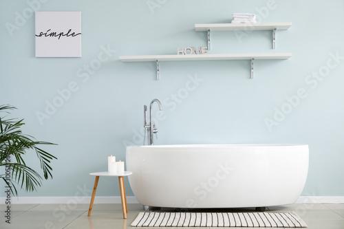 Tableau sur Toile Stylish interior of modern bathroom