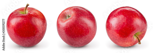 Foto Red apple isolate