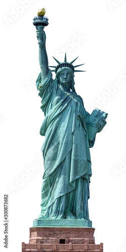 Canvas Print The Statue of Liberty. Manhattan. United States of America.
