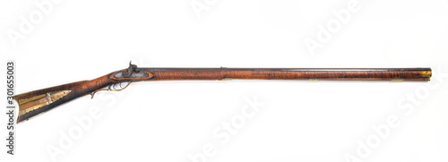 Fotografie, Obraz Antique Mountain Mans 52 caliber Rifle.