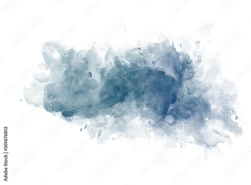 Abstrakcjonistycznej pięknej Kolorowej akwareli obrazu ilustracyjny tło, Kolorowy muśnięcie dla tło tekstury tła. <span>plik: #301676813   autor: Watercolor_Concept</span>