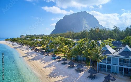 Photo Mauritius island drone photo