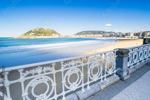 Tableau sur Toile San Sebastian - Donostia in Basque Country
