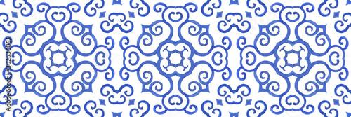 Stampa su Tela Antique portuguese tiles