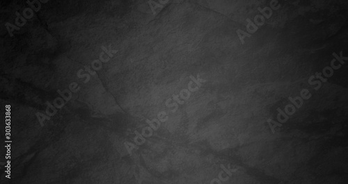 black watercolor background with marbled dark gray cracks and wrinkled creases on old grainy paper in abstract painted vintage illustration
