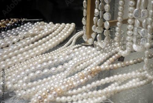 Natural sea pearls assortment