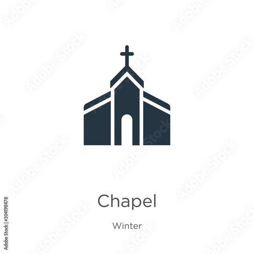 Chapel icon vector Fototapeta