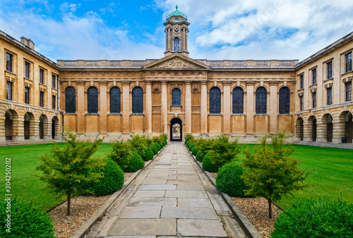 Fotografia The Queen's College at the University of Oxford