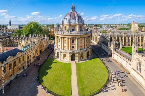 Stampa su Tela The University of Oxford