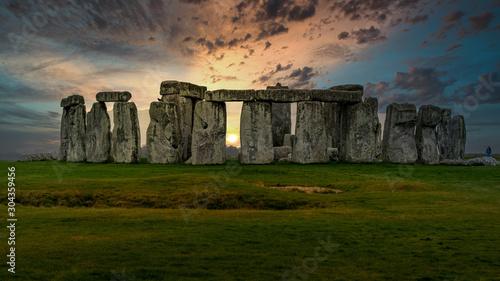 Fotografie, Obraz Stonehenge sunset
