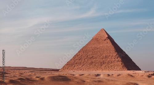 Fotografie, Obraz The Great pyramid of Giza, Egypt Khufu on a sunny day