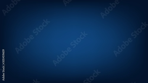 Blurred background. Abstract dark blue gradient design. Minimal creative background. Landing page blurred cover. Colorful graphic. Vector