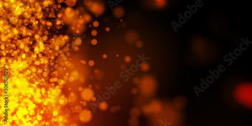 sfondo, fondo, bokeh, luci, calore, scintille, magia Poster Mural XXL