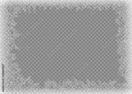 Obraz na plátne Snow frame