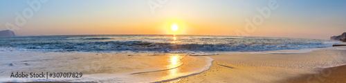 Dawn by the sea