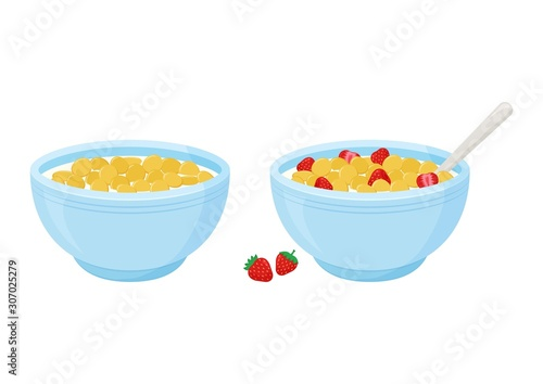 Canvas Print Cereal breakfast
