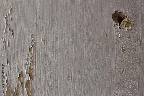Obraz na płótnie Ściana ze złuszczoną białą farbą