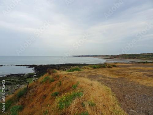 Paysage de la Côte d'Opale, Pas de Calais Fototapeta