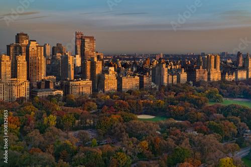 Carta da parati Central Park West Sunrise