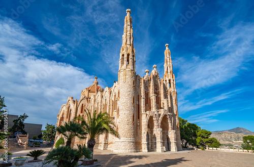 Fotografia Sanctuary of Santa Maria Magdalena, Novelda, Alicante, Spain.