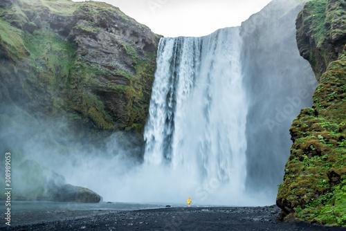 Wodospad Skogafoss, Islandia