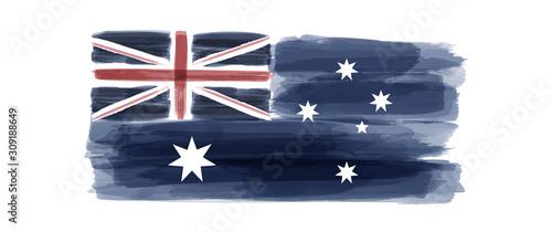 Canvas Print Australia National Day