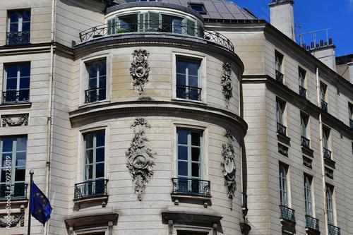 Fotografering Paris; France - april 2 2017 : boulevard des Capucines