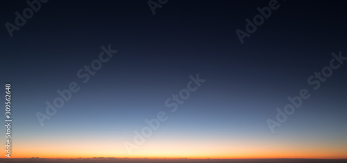Cuadros en Lienzo morning sky before sunrise at magic hours twilight time