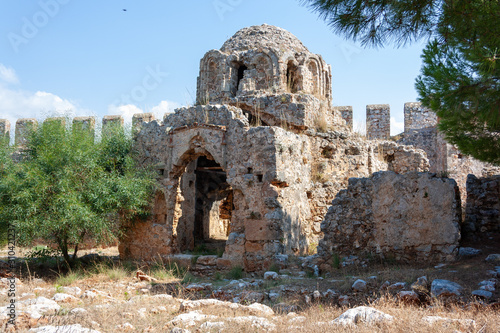 Fototapeta ruins of ancient temple