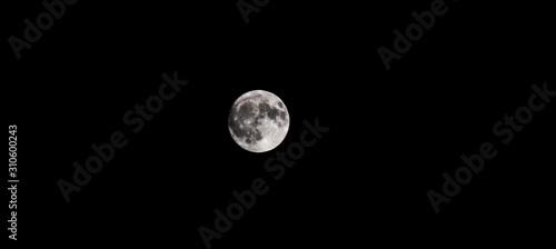 Fotografia, Obraz Full moon