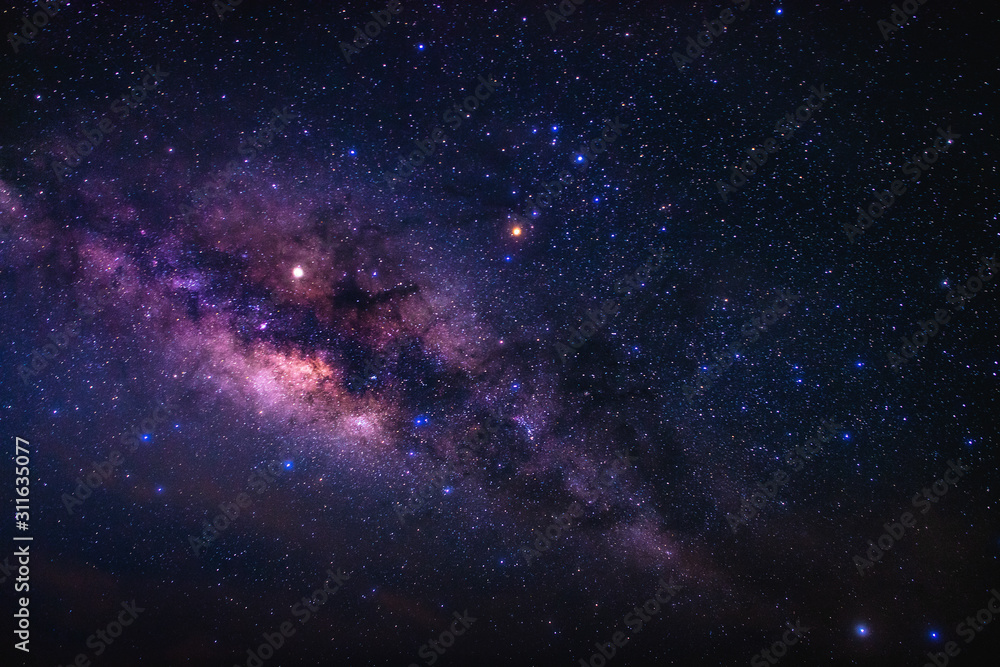 Beauty of the Milky way galaxy