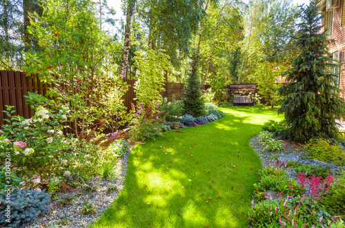Fotografija Landscaping in home garden