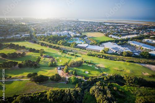 Golf course in Sydney Suburbs Fototapeta