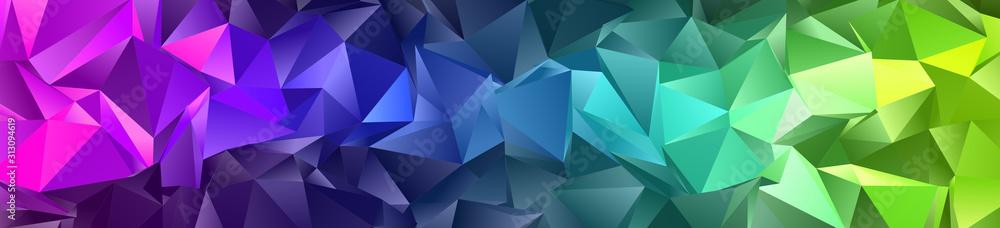Streszczenie tło Low-Poly. triangulowana tekstura. Projektowanie 3d. Wieloboczny wzór geometryczny. Trójkątny nowoczesny styl <span>plik: #313094619 | autor: hary_cz</span>