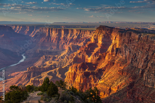 Wallpaper Mural The Plateau the Grand Canyon, Arizona, USA.