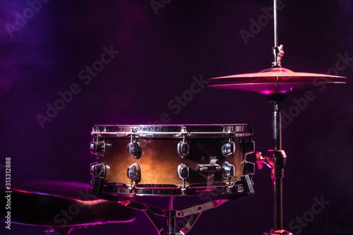 Drums and drum set Fototapet