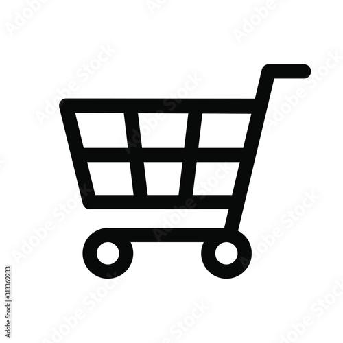 Fototapeta shopping cart icon