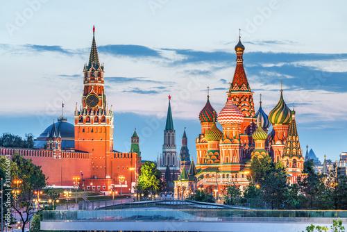 Wallpaper Mural Kremlin and St