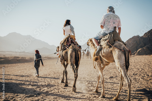 Foto a ride on the camel