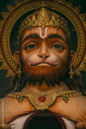 Canvas Print Hanuman - Monkey God in Hinduism