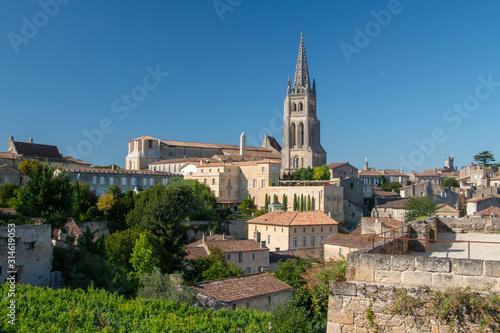 Fotografie, Tablou Saint Emilion