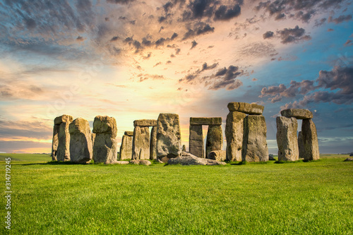 Fototapeta Stonehenge at Sunset