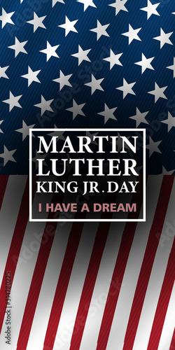 Stampa su Tela Martin Luther King Jr