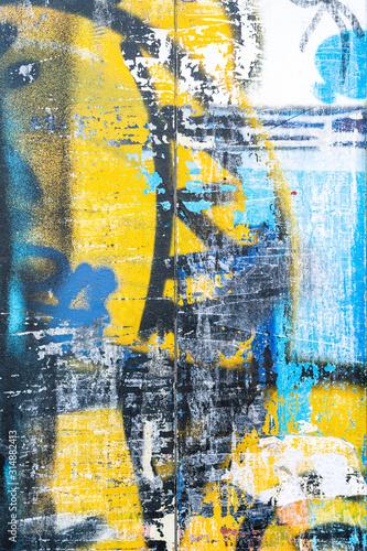 graffiti-niebiesko-zolte