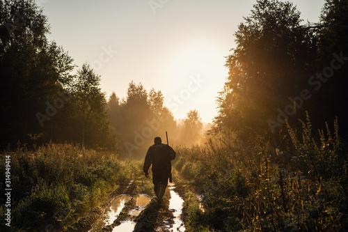 Fotografie, Obraz Summer hunting at sunrise