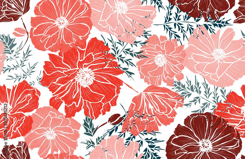floral seamless pattern <span>plik: #315125212 | autor: Chantal</span>