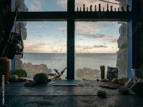 Fotografia, Obraz Window to the Sea