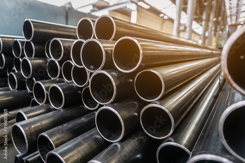 Photo high quality Galvanized steel pipe or Aluminum and chrome stainless pipes in sta